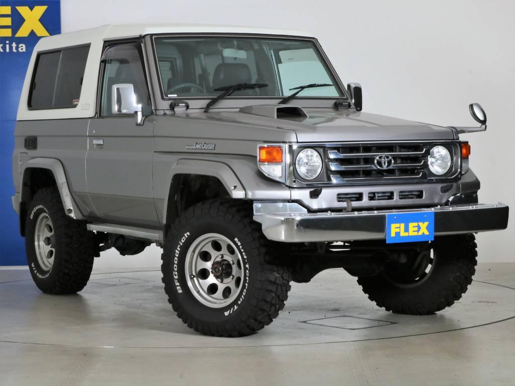 各種任意保険、オートローンも扱っておりますのでお気軽にご相談ください。 | トヨタ ランドクルーザー70 4.2 ZX FRPトップ ディーゼル 4WD NOX・PM法適合車 2インチUP