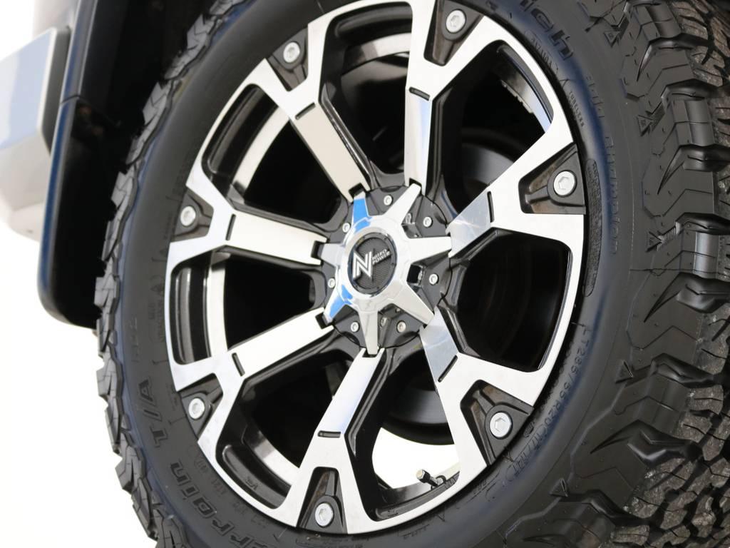 新品ナイトロパワー20インチAW&BFグッドリッチAT装着 | トヨタ FJクルーザー 4.0 4WD 新品20インチAW SDナビ