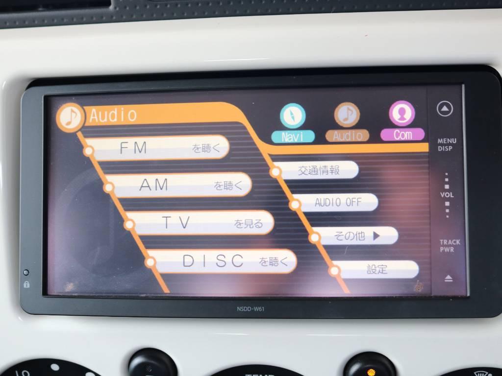 純正SDナビも装着済み! | トヨタ FJクルーザー 4.0 4WD 新品20インチAW SDナビ