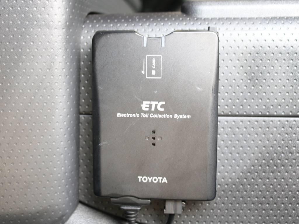 必需品のETCも完備! | トヨタ FJクルーザー 4.0 4WD 新品20インチAW SDナビ