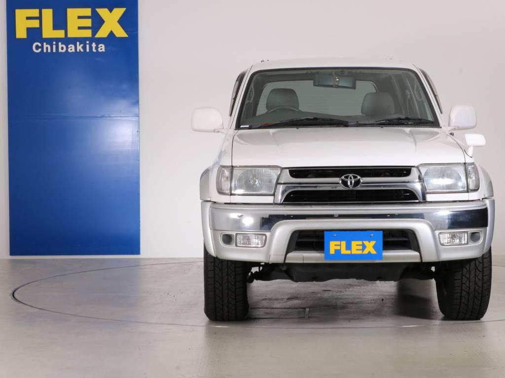 レンズ類にクスミも無くグッドコンディション! | トヨタ ハイラックスサーフ 2.7 SSR-X 4WD LEDテール