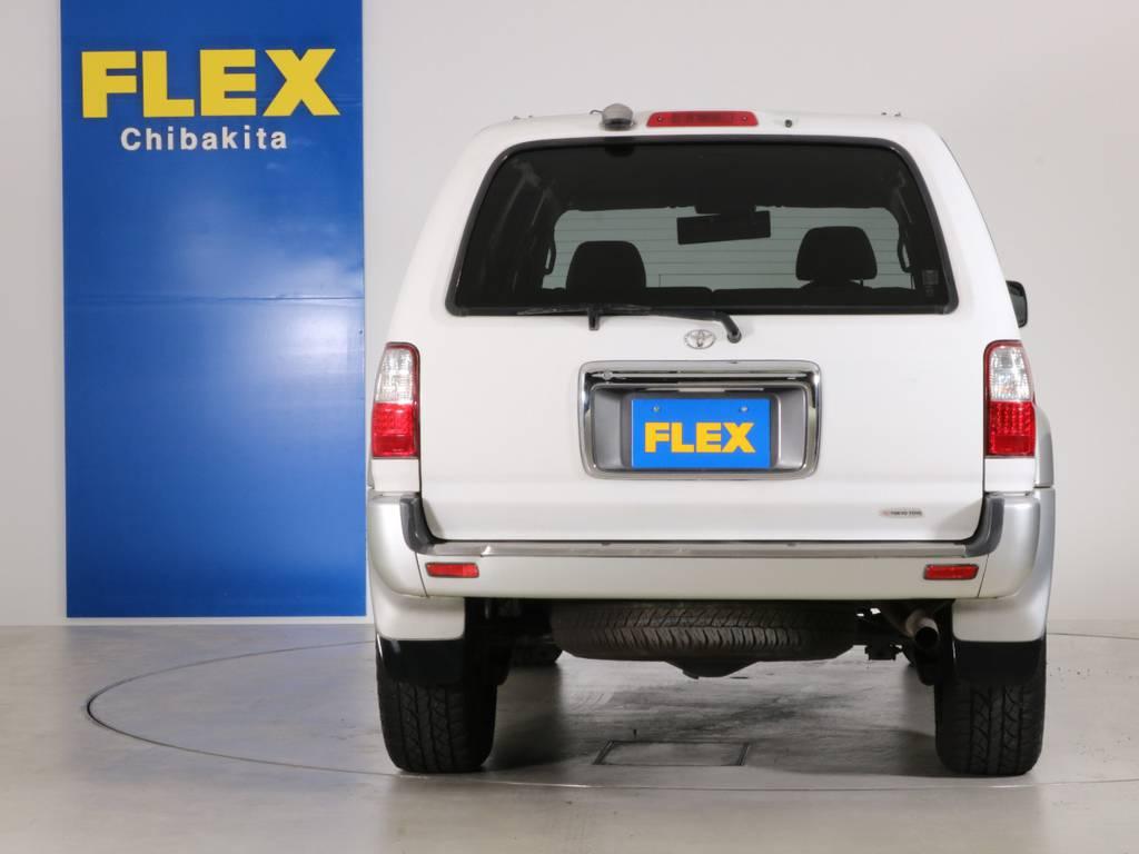 後ろ廻りにも大きな傷も無くグッドコンディション! | トヨタ ハイラックスサーフ 2.7 SSR-X 4WD LEDテール
