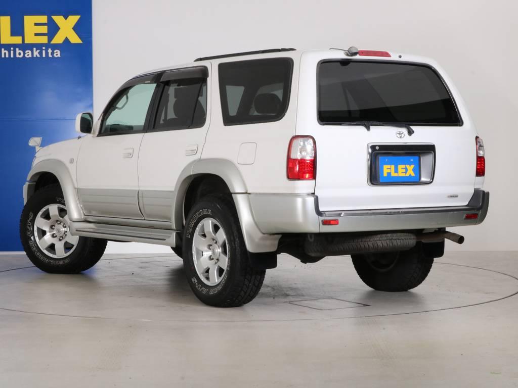 外装に大きな傷も無くグッドコンディション! | トヨタ ハイラックスサーフ 2.7 SSR-X 4WD LEDテール