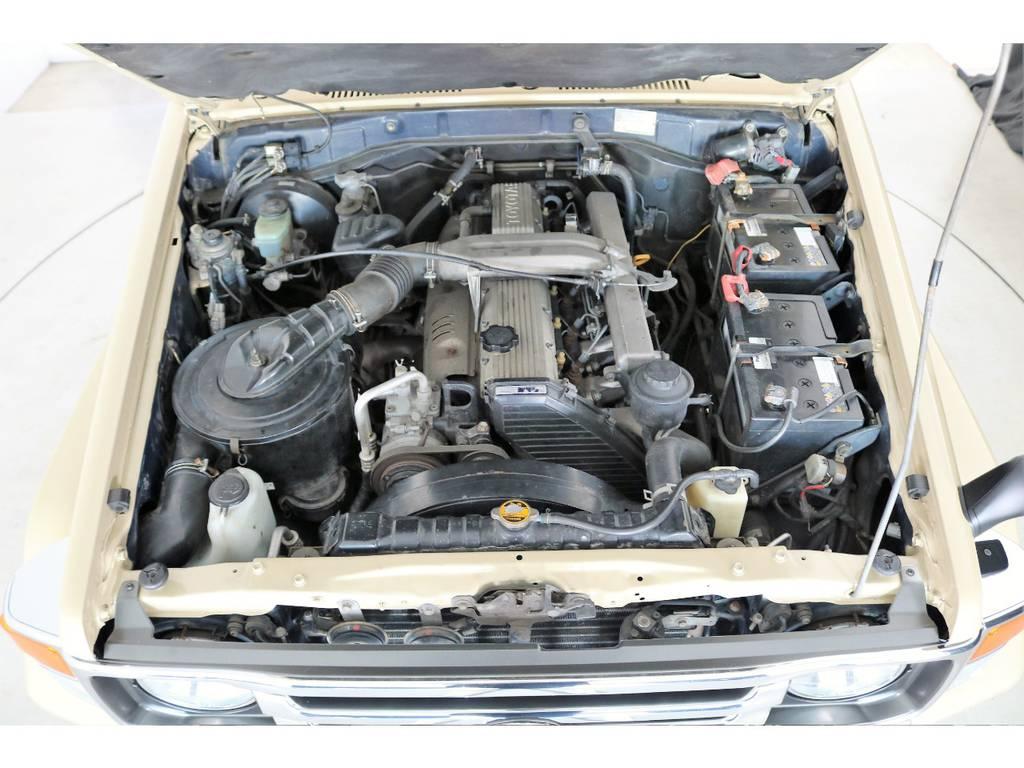 店舗敷地内に工場完備ですので車検から整備までお任せください。   トヨタ ランドクルーザー70 4.2 LX ディーゼル 4WD NOX・PM法適合車 76フェイス