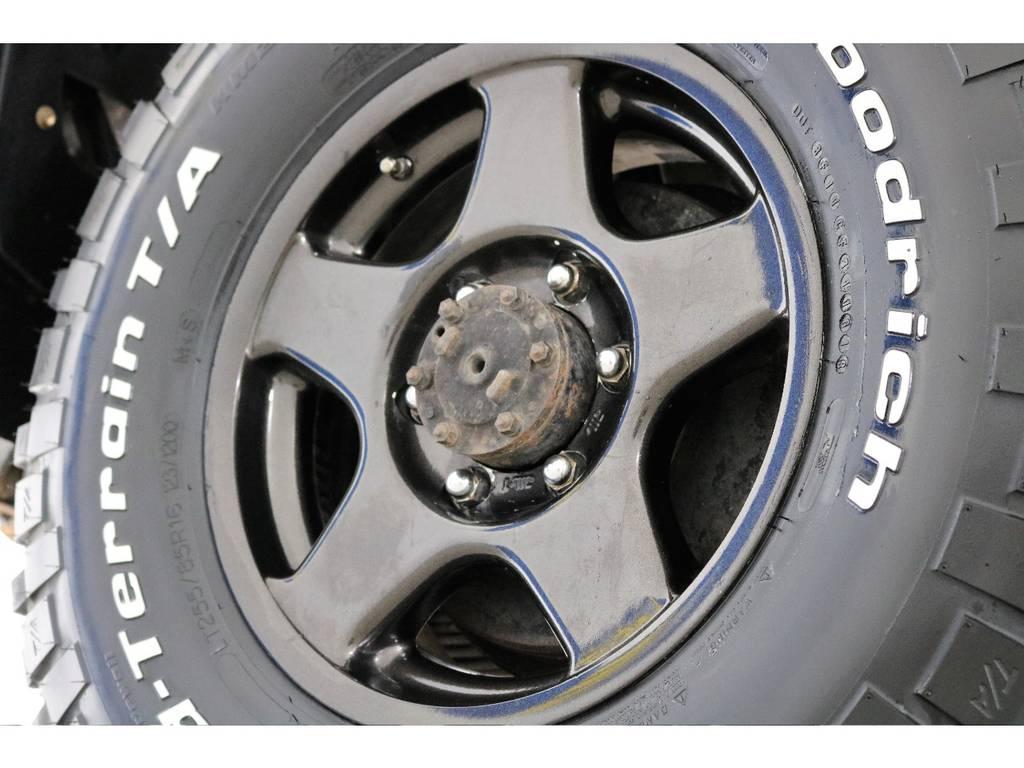 ブラットレーVに新品BFグッドリッチMTを装着!   トヨタ ランドクルーザー70 4.2 LX ディーゼル 4WD NOX・PM法適合車 76フェイス