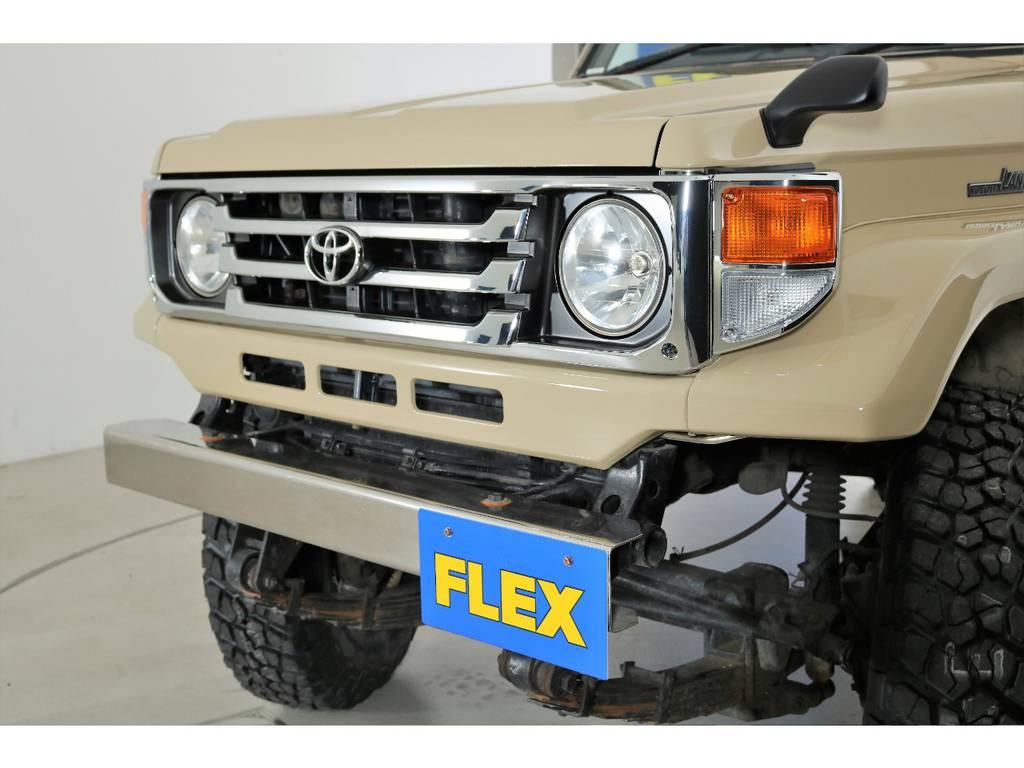 新品76フェイスに換装済み!   トヨタ ランドクルーザー70 4.2 LX ディーゼル 4WD NOX・PM法適合車 76フェイス