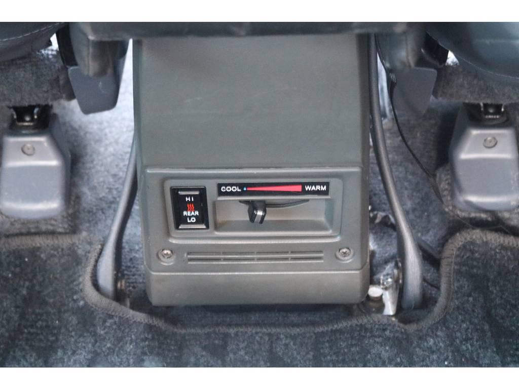 リアエアコンで後部座機器も快適空間!   トヨタ ランドクルーザー70 4.2 LX ディーゼル 4WD NOX・PM法適合車 76フェイス