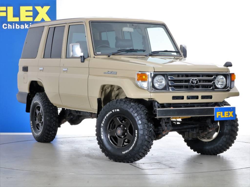 各種任意保険、オートローンも扱っておりますのでお気軽にご相談ください。   トヨタ ランドクルーザー70 4.2 LX ディーゼル 4WD NOX・PM法適合車 76フェイス