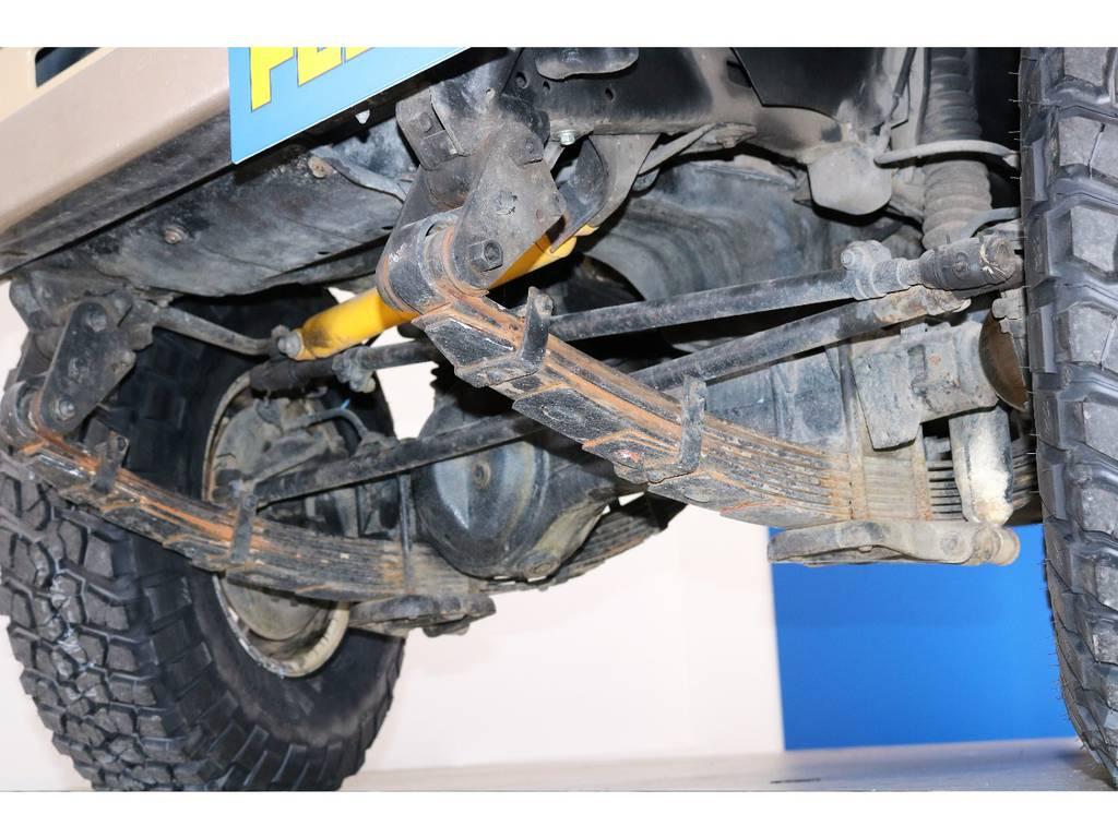 ご希望がございましたら下廻り防腐パスター仕上げもできます!お気軽にご相談ください!   トヨタ ランドクルーザー70 4.2 LX ディーゼル 4WD NOX・PM法適合車 76フェイス