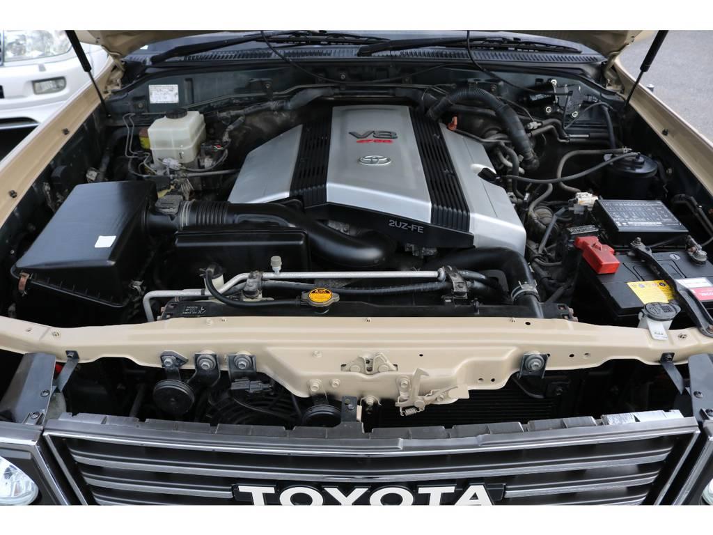 4700ccガソリンエンジン☆ | トヨタ ランドクルーザー100 4.7 VXリミテッド 4WD Renoca106 フルセグナビ