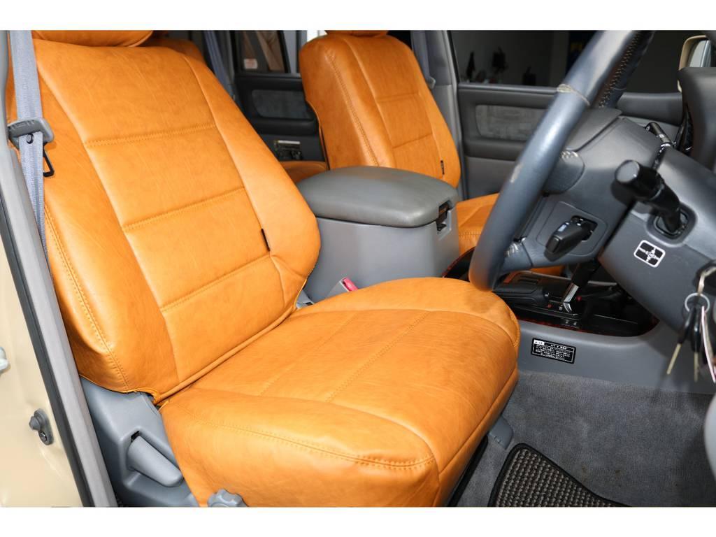 オリジナルシートカバー☆ | トヨタ ランドクルーザー100 4.7 VXリミテッド 4WD Renoca106 フルセグナビ