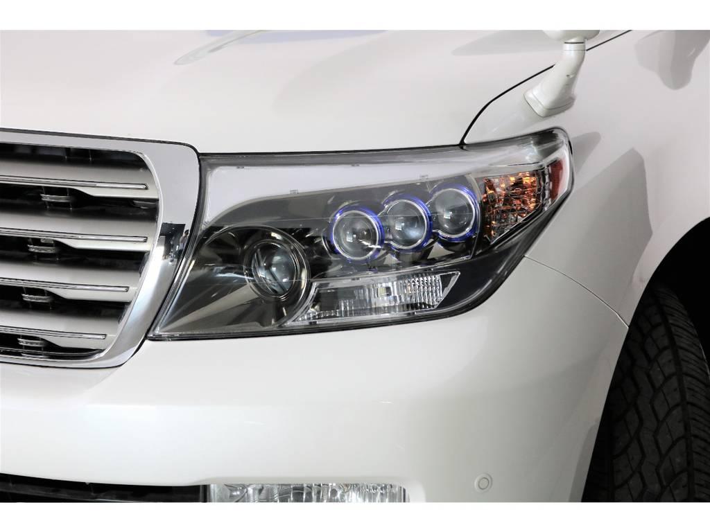新品社外ヘッドライト☆ | トヨタ ランドクルーザー200 4.7 AX 4WD マルチ フロントサイドバックカメラ