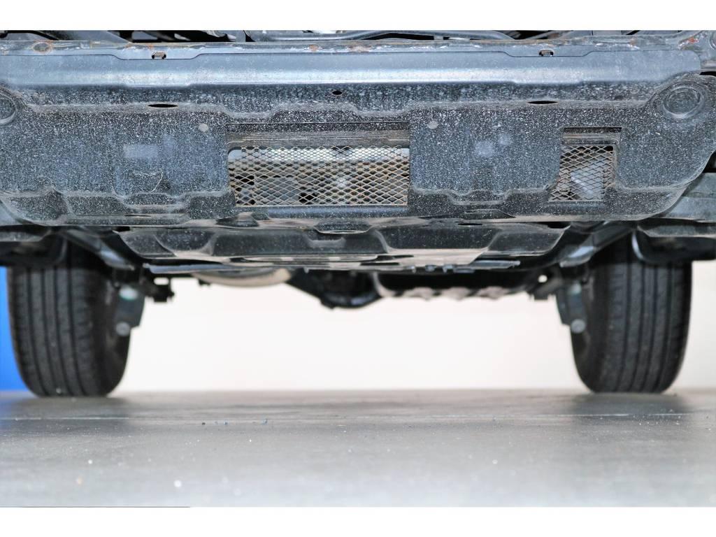 ご希望がございましたら下廻り防腐パスター仕上げもできます!お気軽にご相談ください! | トヨタ FJクルーザー 4.0 ブラックカラーパッケージ 4WD SDナビ 純正ルーフラック
