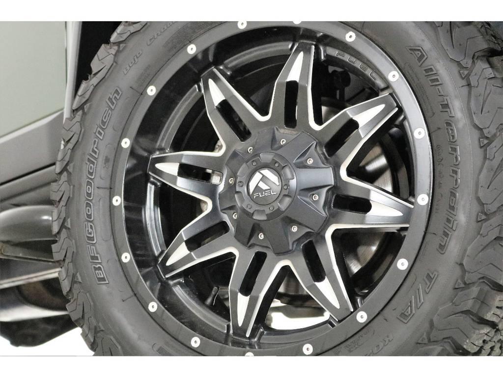 FUEL20インチホイール&BFグッドリッチATタイヤを装着致しました! | トヨタ FJクルーザー 4.0 カラーパッケージ 4WD SDナビ バックカメラ