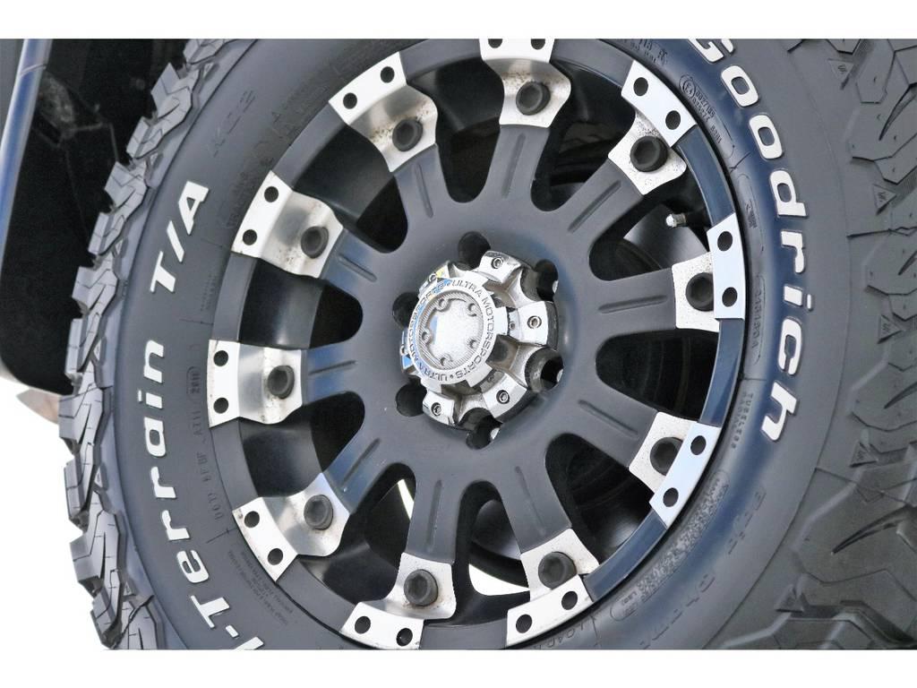 ウルトラ17インチAW&BFグッドリッチAT装着済! | トヨタ FJクルーザー 4.0 カラーパッケージ 4WD 2インチUP HDDナビ バックカメラ