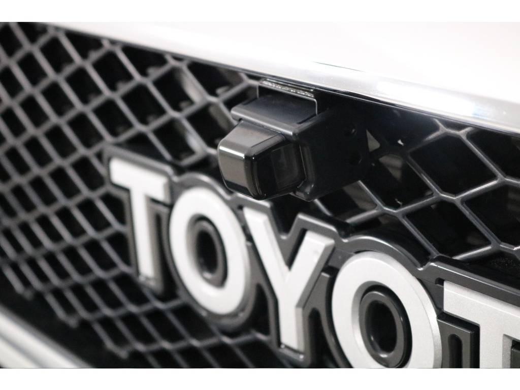 フロントカメラも装着済み! | トヨタ ランドクルーザー70 4.0 4WD オプションデフロック SDナビ