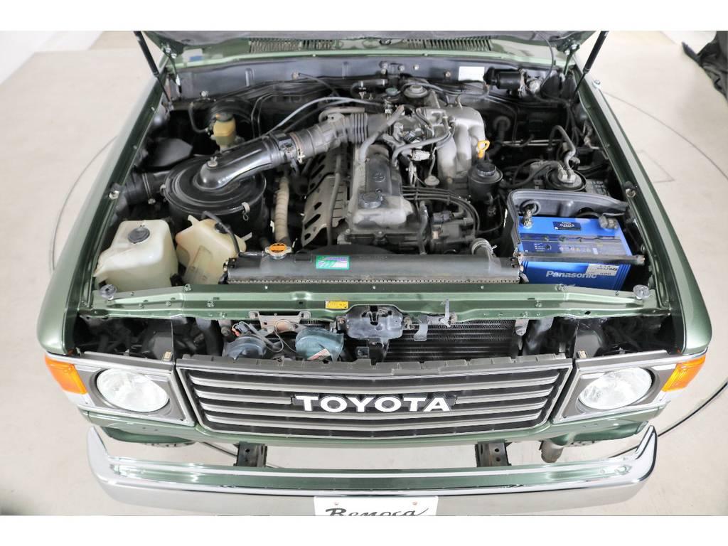 4500ccガソリンエンジン☆もちろん高速は快適走行できます☆
