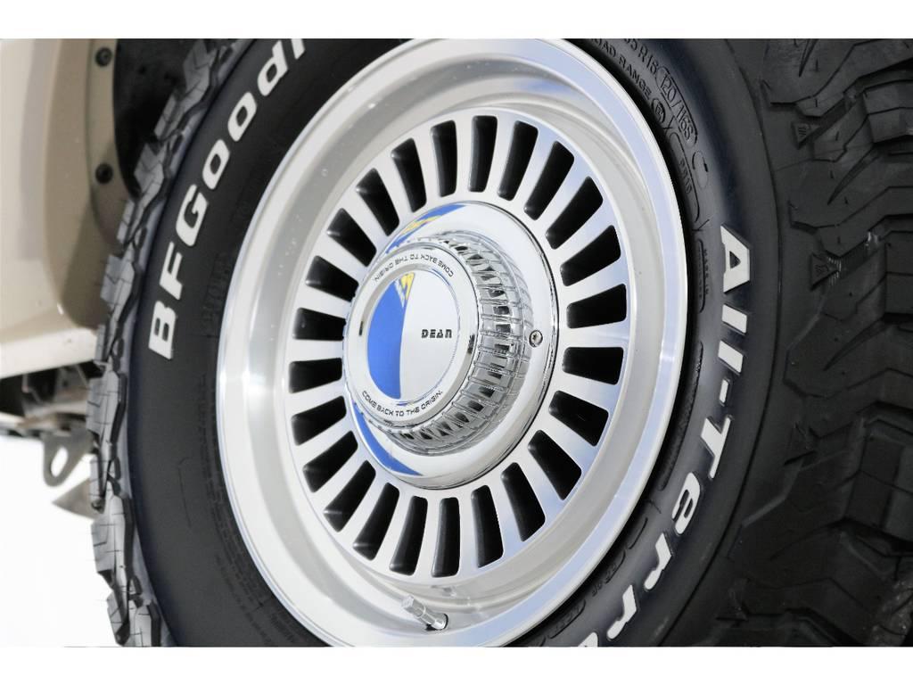 新品DEANカルフォルニア&BFグッドリッチ☆ | トヨタ ランドクルーザー100 4.2 VXリミテッド Gセレクション ディーゼルターボ 4WD 106 丸目 シートカバー