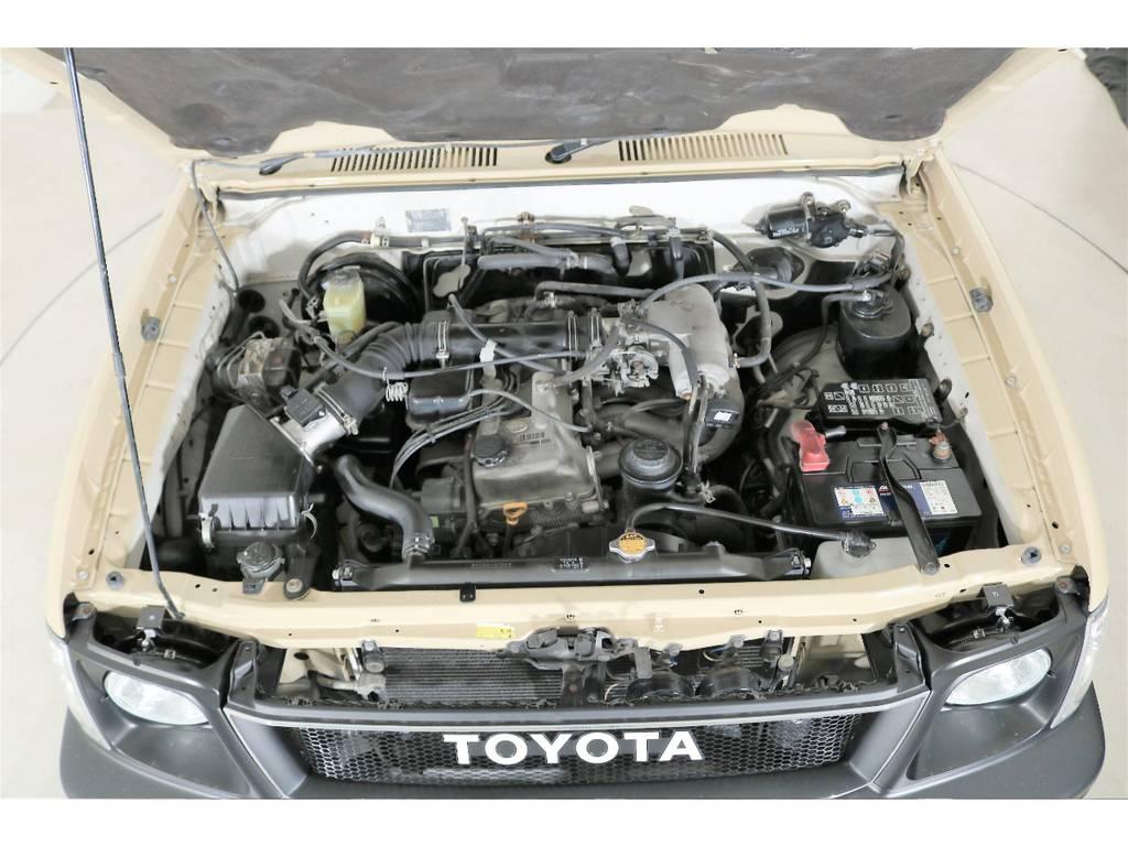 2700CCガソリンエンジン☆タイミングチェーンなので交換不要☆ | トヨタ ランドクルーザープラド 2.7 TX リミテッド 4WD ナロー仕様 SDナビ ETC Bカメラ
