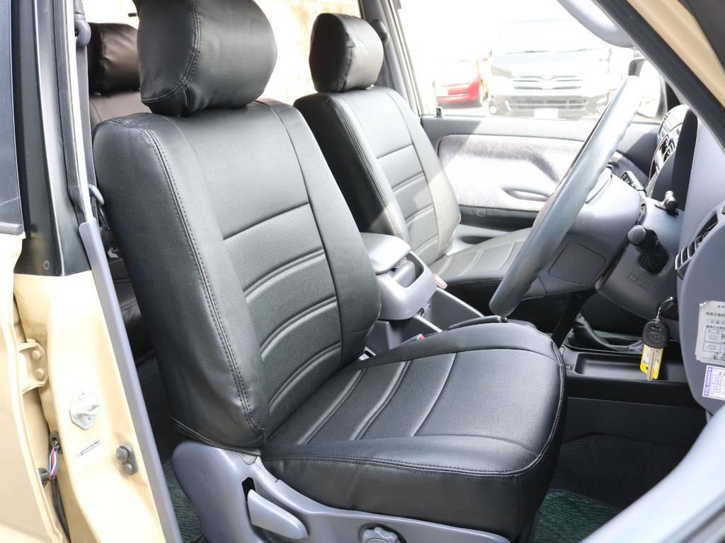 運転席は広々で快適なドライブが楽しめます☆ | トヨタ ランドクルーザープラド 2.7 TX リミテッド 4WD ナロー仕様 SDナビ ETC Bカメラ