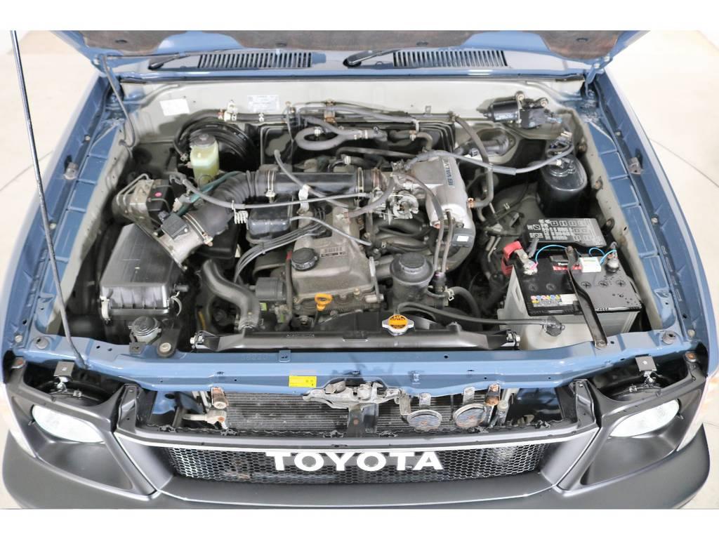 2700ccガソリンエンジン☆タイミングチェーンなので維持費が安いです☆ | トヨタ ランドクルーザープラド 2.7 TX 4WD ナロー仕様 SDナビ ETC Bカメラ