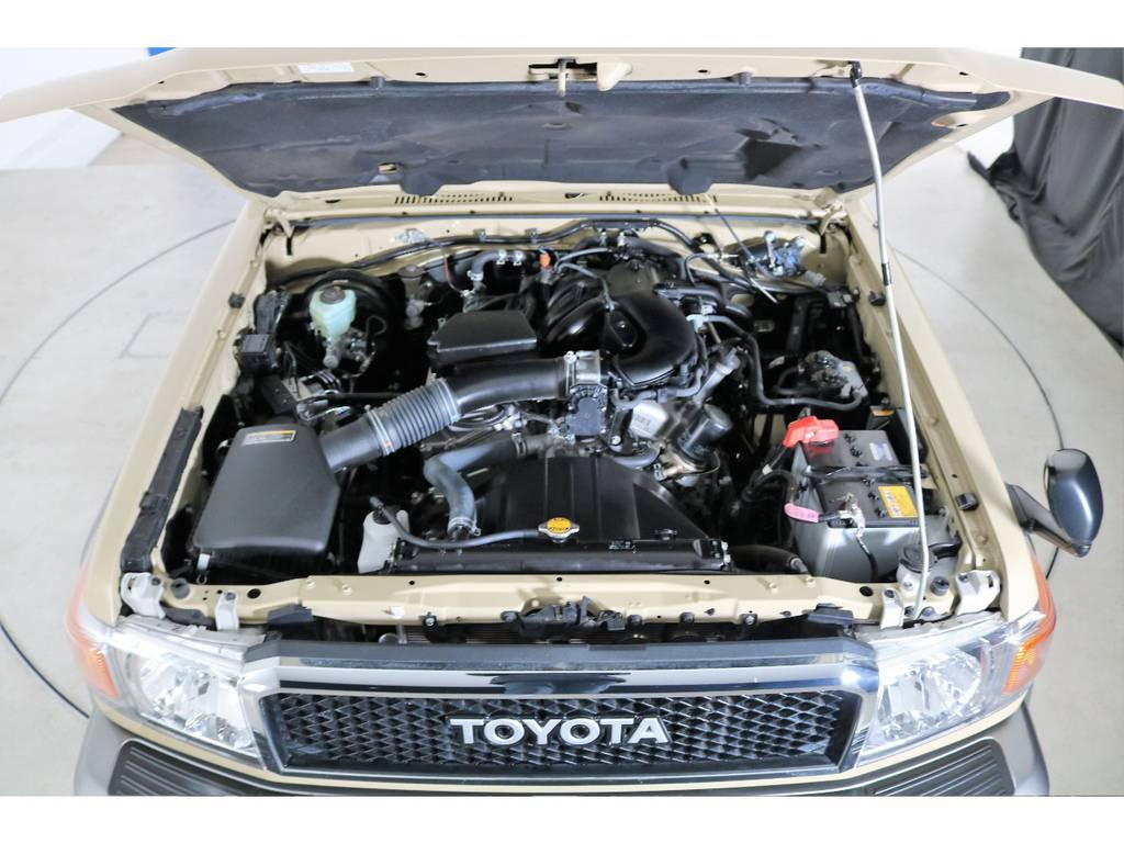 4000ccエンジン☆ | トヨタ ランドクルーザー70 4.0 4WD オプショングリル SDナビ ETC