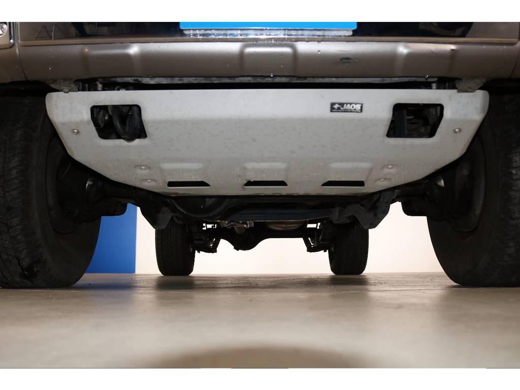 JAOSアンダーカバー装着☆ | トヨタ ランドクルーザー70 4.0 4WD オプショングリル SDナビ ETC