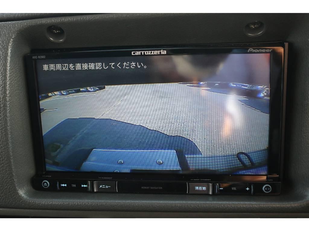 バックカメラも新品にて装着☆ | トヨタ ランドクルーザープラド 3.0 SXワイド ディーゼルターボ 4WD NOX・PM法適合車 SDナビ