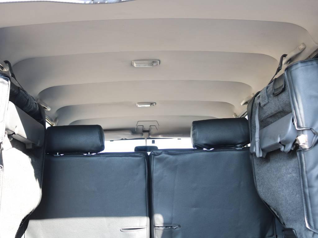 天張りも綺麗です☆ | トヨタ ランドクルーザープラド 3.0 SXワイド ディーゼルターボ 4WD NOX・PM法適合車 SDナビ