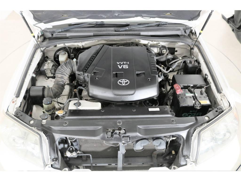 V6、4000ccガソリンエンジン☆ハイパワーです☆