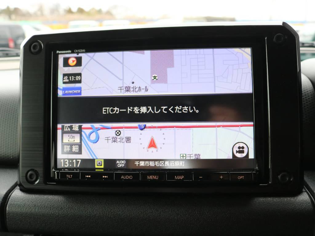 ETC連動ナビ☆ | スズキ ジムニーシエラ 1.5 JC 4WD 8インチナビ ETC Bカメラ