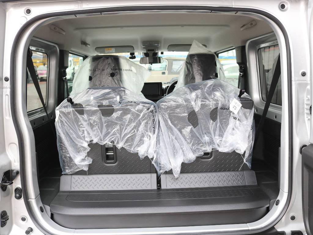 汚れにくい荷室素材☆ | スズキ ジムニーシエラ 1.5 JC 4WD 8インチナビ ETC Bカメラ