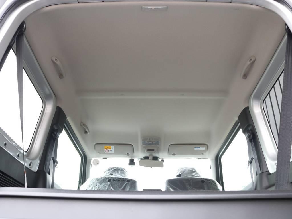 天張りももちろん綺麗に保たれております☆ | スズキ ジムニーシエラ 1.5 JC 4WD 8インチナビ ETC Bカメラ