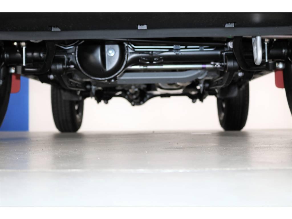 下回りもまだまだ綺麗です☆ | スズキ ジムニーシエラ 1.5 JC 4WD 8インチナビ ETC Bカメラ