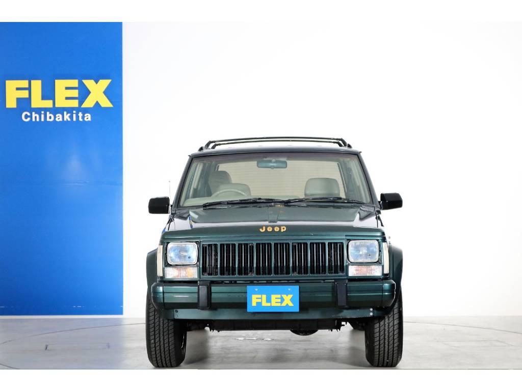 カクカクボディが人気のXJチェロキー☆   ジープ チェロキー リミテッド 4WD
