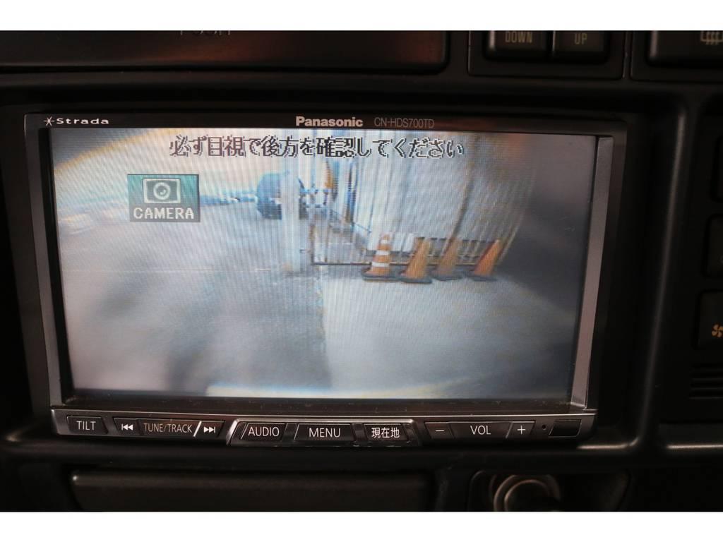 バックカメラ装着☆ | トヨタ ランドクルーザー80 4.2 VX ディーゼルターボ 4WD 3インチUP HDDナビ バックカメラ