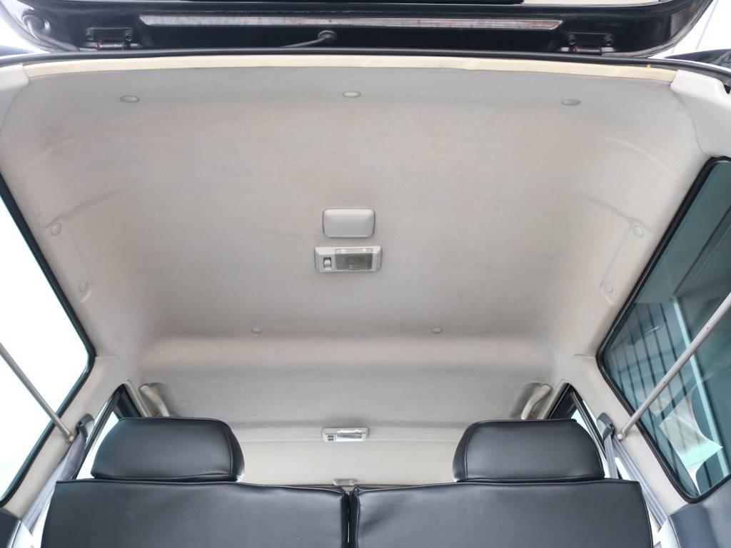 天張りも綺麗に保たれております☆ | トヨタ ランドクルーザー80 4.2 VX ディーゼルターボ 4WD 3インチUP HDDナビ バックカメラ