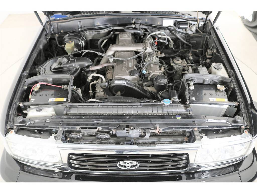 ディーゼルターボ4200ccエンジン☆ | トヨタ ランドクルーザー80 4.2 VX ディーゼルターボ 4WD 3インチUP HDDナビ バックカメラ