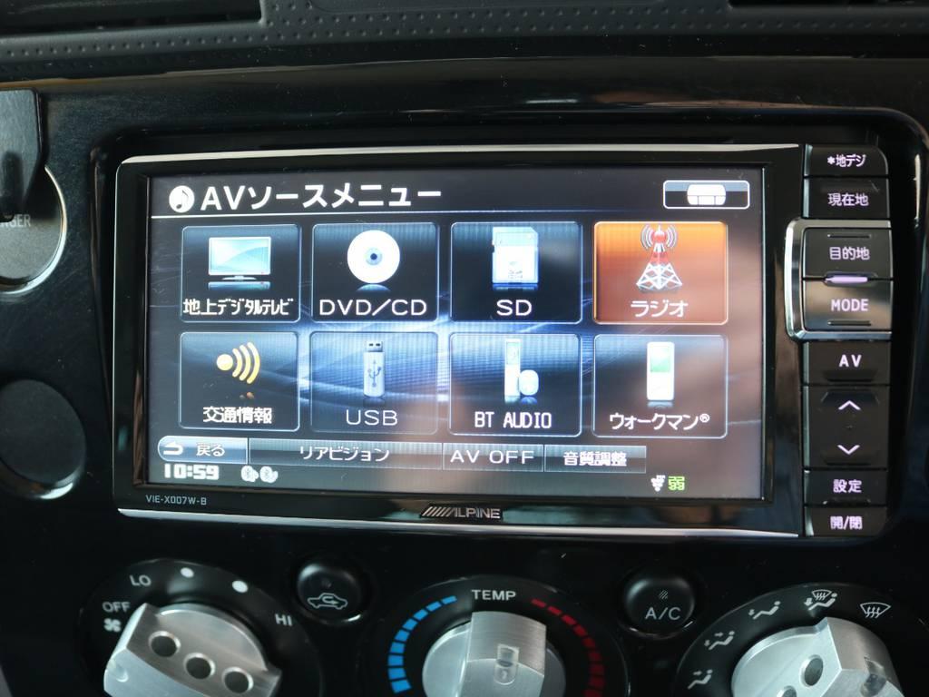 SDナビ☆ | トヨタ FJクルーザー 4.0 4WD SDナビ 純正ルーフラック