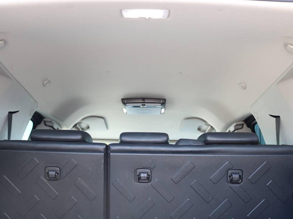 天張りも綺麗に保たれております☆ | トヨタ FJクルーザー 4.0 4WD SDナビ 純正ルーフラック