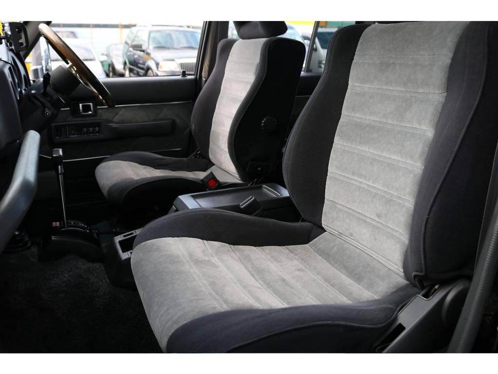 助手席もへたりもなく綺麗に保たれております☆ | トヨタ ランドクルーザー60 4.0 VX ハイルーフ 4WD 平屋根換装 全国登録OK
