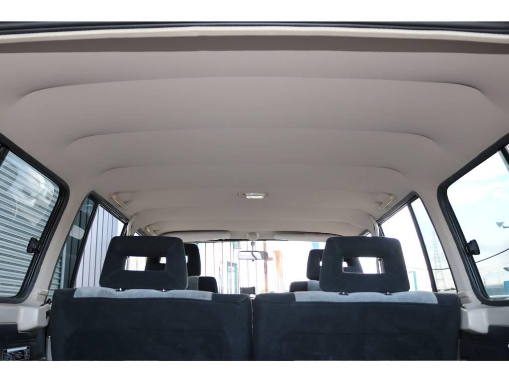 天張りも綺麗に保たれております☆ | トヨタ ランドクルーザー60 4.0 VX ハイルーフ 4WD 平屋根換装 全国登録OK