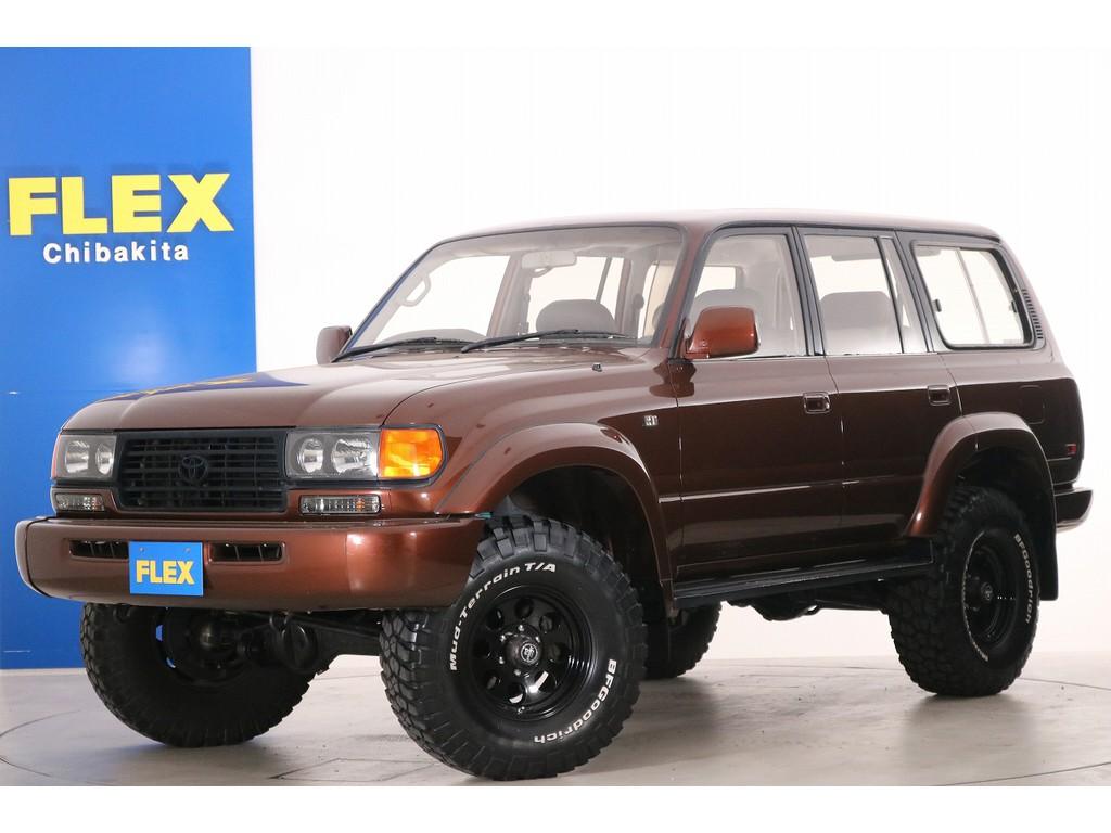 ランドクルーザー80 4.2 VXリミテッド ガソリン 4WD 後期型入庫致しました!!