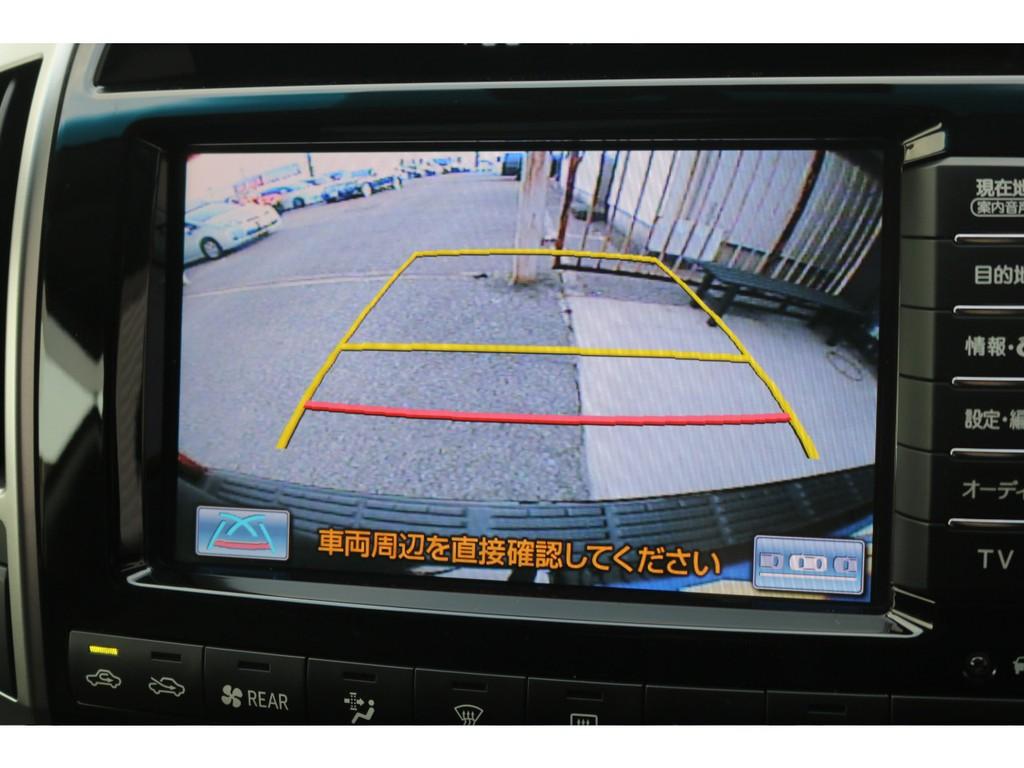 バックカメラ装備の為バック駐車も楽々です!