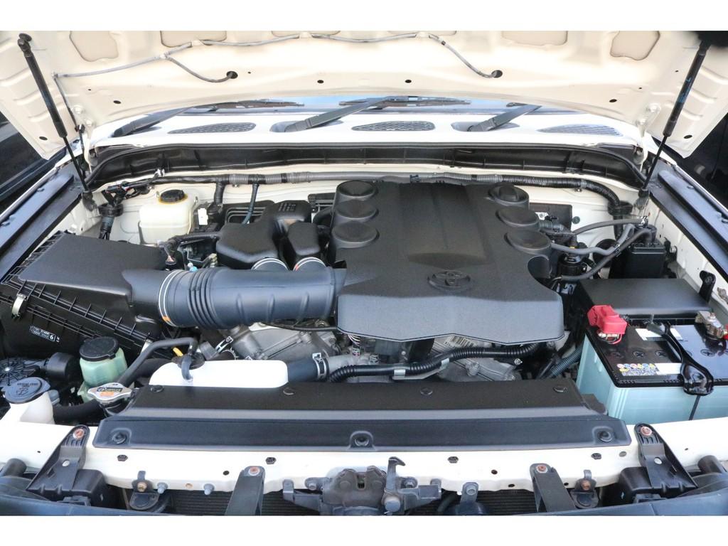 耐久性&パワフルさを兼ね備えた1GRエンジン!