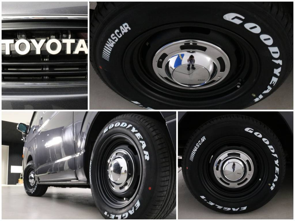 DEAN CROSS COUNTRYのBLKをインストール | トヨタ ハイエースバン 2.7 スーパーGL ワイド ロング ミドルルーフ 4WD CoastLines