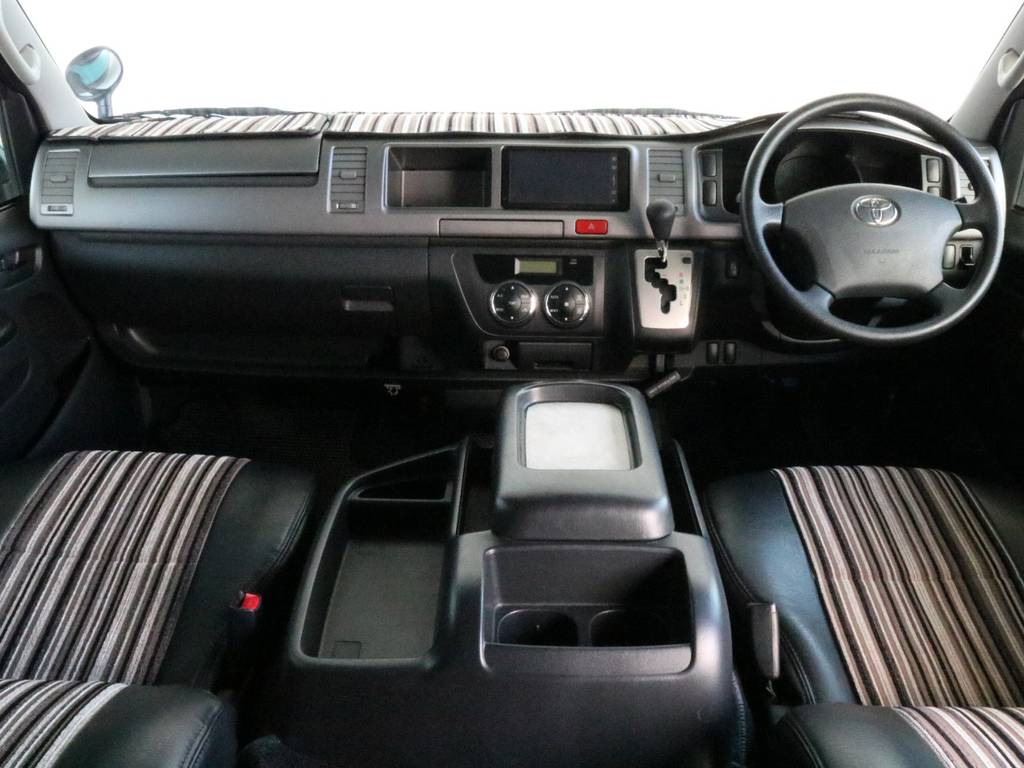Renoca CostLine!!   トヨタ レジアスエース 2.7 スーパーGL ワイド ミドルルーフ ロングボディ CoastLines内装FU-Wスライ