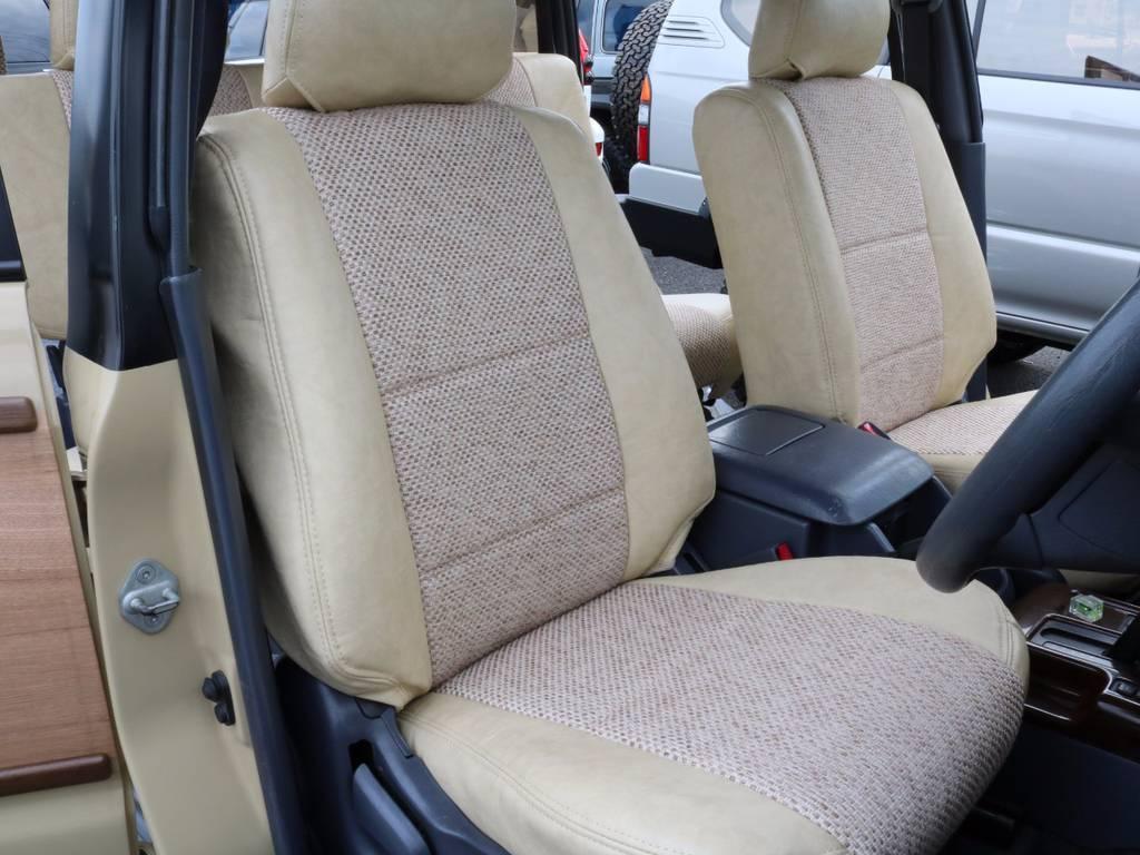 運転席も目立つヘタリ無くキレイに保たれております☆ | トヨタ ランドクルーザープラド 3.0 TX リミテッド ディーゼルターボ 4WD 【AMERICANCLASSIC】