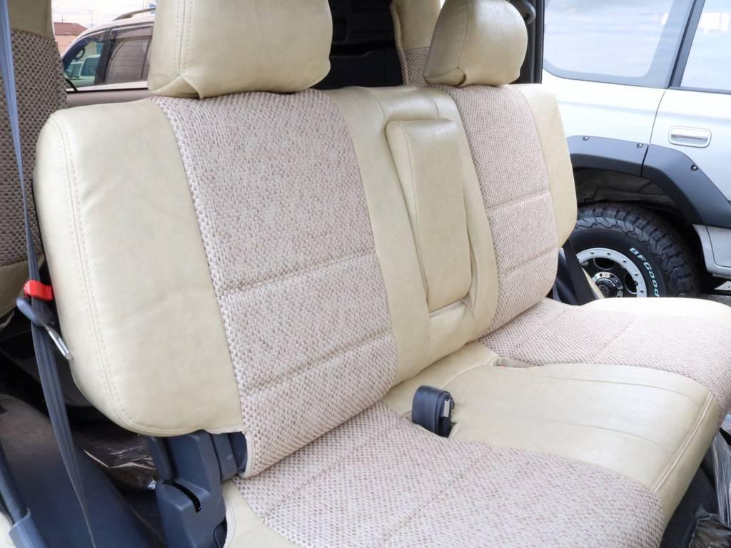 後部座席は大人もくつろげるスペースがございます☆ | トヨタ ランドクルーザープラド 3.0 TX リミテッド ディーゼルターボ 4WD 【AMERICANCLASSIC】