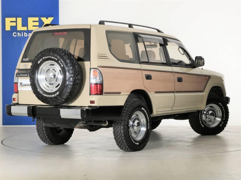 もちろんここからのカスタムも出来ますのでご相談下さい☆ | トヨタ ランドクルーザープラド 3.0 TX リミテッド ディーゼルターボ 4WD 【AMERICANCLASSIC】